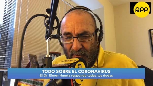 El doctor Elmer Huerta respondió a las consultas de los oyentes de RPP Noticias.