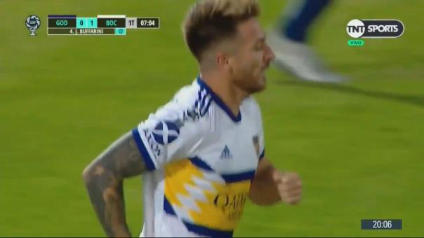 Así fue el gol de Julio Buffarini.