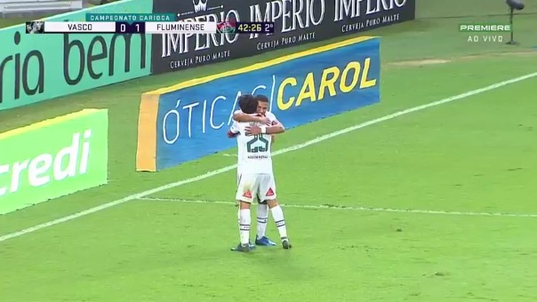 Fernando Pacheco anotó su primer gol con camiseta de Fluminense