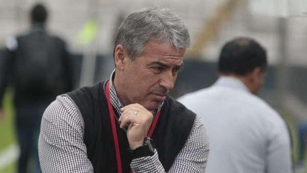 Pablo Bengoechea entrenador de Alianza Lima.