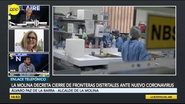 """Municipalidad de La Molina anunció """"el cierre de fronteras distritales"""""""