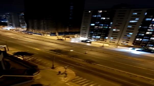 Residentes de la avenida Brasil hicieron hurras para afrontar la cuarentena de 15 días establecida por el Gobierno.