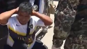 El personal militar les advirtió que si son intervenidos nuevamente serán detenidos y llevados a la comisaría.