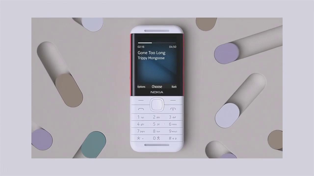 El Nokia 5310 está centrado en reproducir MP3 y escuchar radio FM.