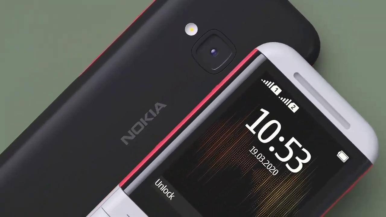 El Nokia 5300 cuenta con doble ranura para SIM.