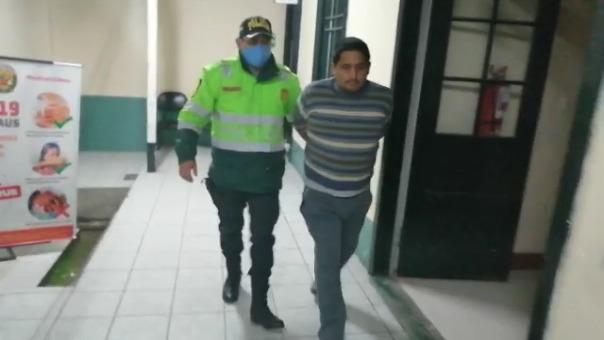 Un conductor fue detenido por trasladar a 32 personas desde la ciudad de Lima a Huancayo en pleno Estado de Emergencia en el territorio nacional.