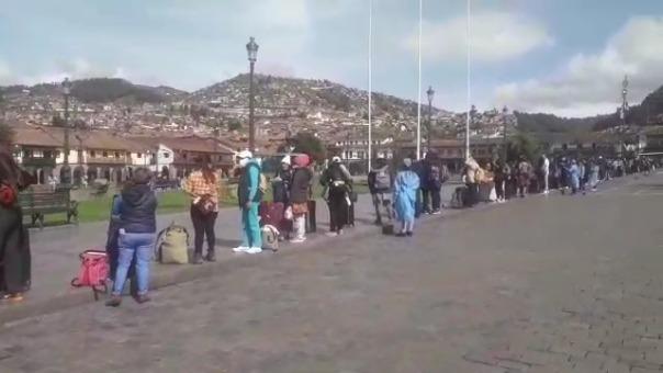 Alrededor de 481 turistas mexicanos regresan a su país, tras quedarse varados en la ciudad de Cusco, debido al Estado de Emergencia Nacional.
