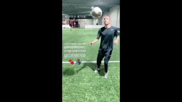 #ChocalateChallenge es nuevo reto de Jefferson Farfán
