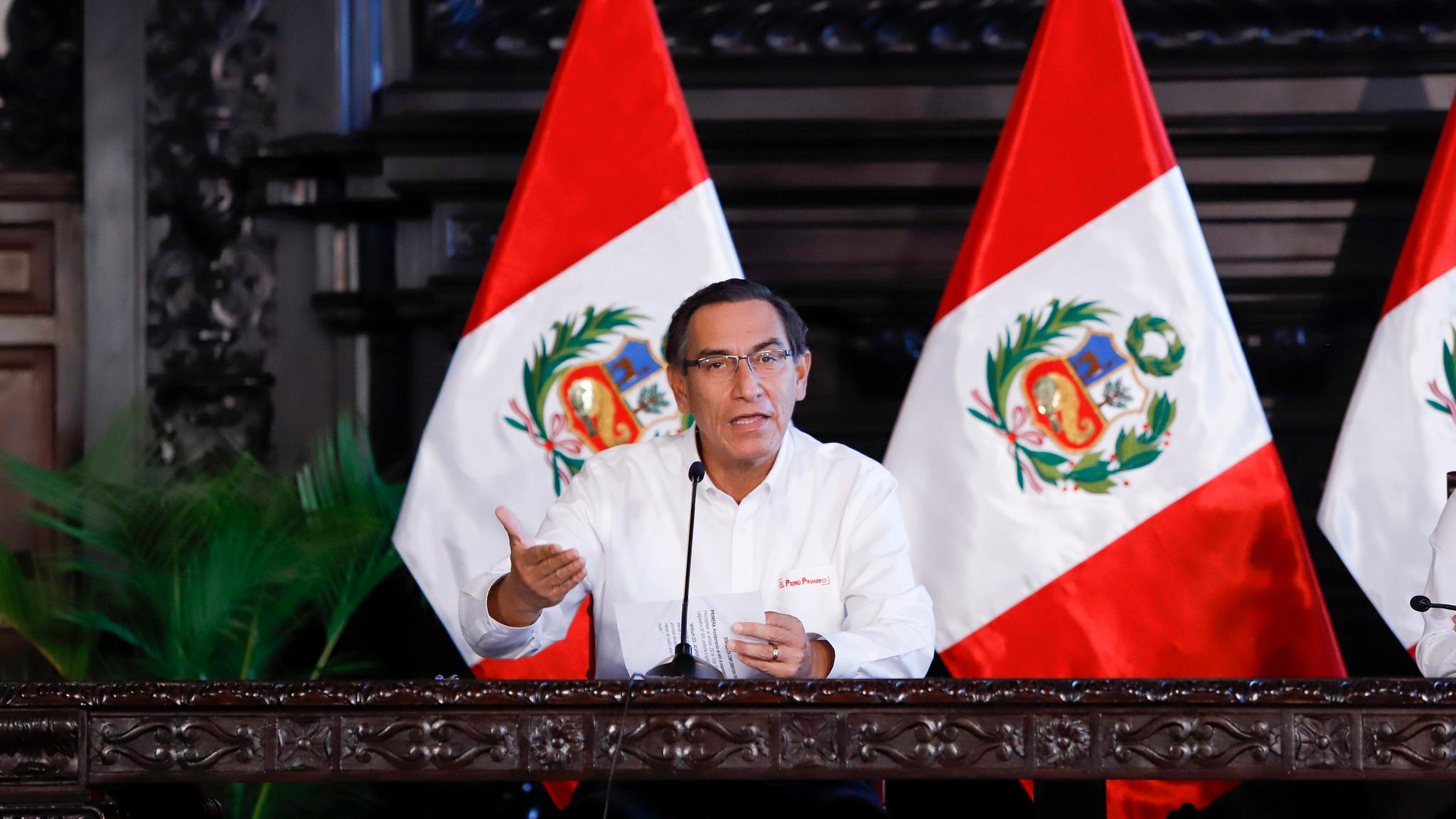 Presidente Vizcarra da un balance de las medidas del Gobierno.