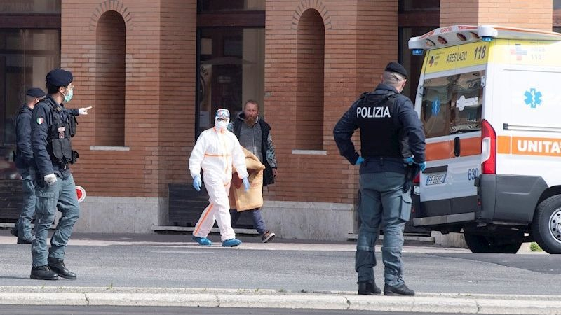 Italia es el país con mayor número de muertos por coronavirus en el mundo.