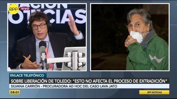 Toledo fue liberado bajo fianza ante el riesgo del nuevo coronavirus.