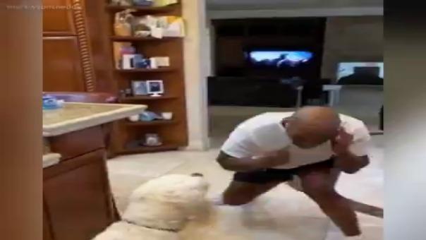 Mike Tyson y su peculiar entrenamiento