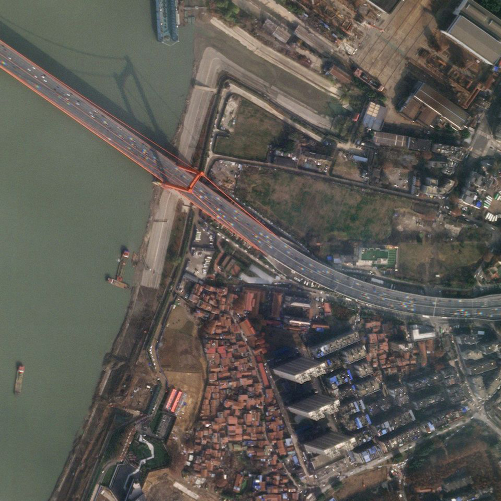 12 de enero de 2020. Wuhan fue el lugar de inicio de la pandemia. Los primeros días de enero esta aún no había salido de control y la actividad industrial transcurría con normalidad.