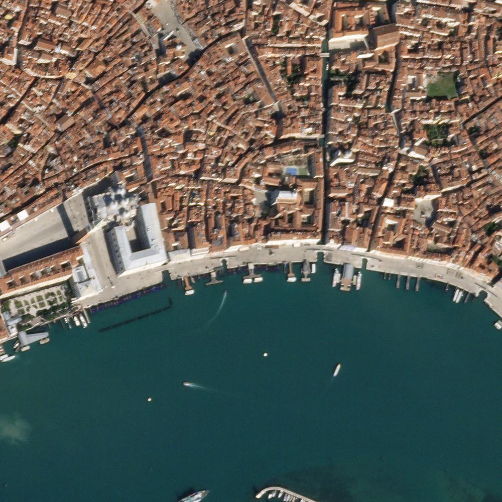 18 de marzo de 2020. Italia es un de los países más afectados por el COVID-19. Eso se refleja enlas calles y canales de Venecia.