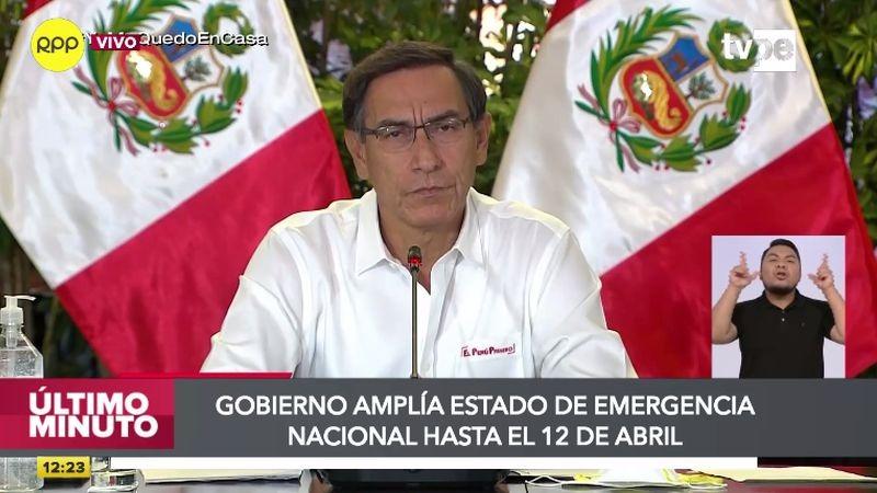 Martín Vizcarra mencionó que las medidas regirán en algunas regiones del país.