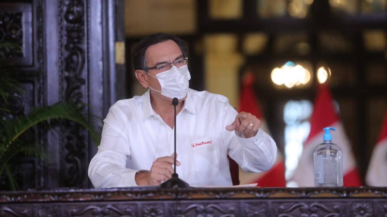 El presidente Vizcarra pidió la supervisión de la Contraloría.