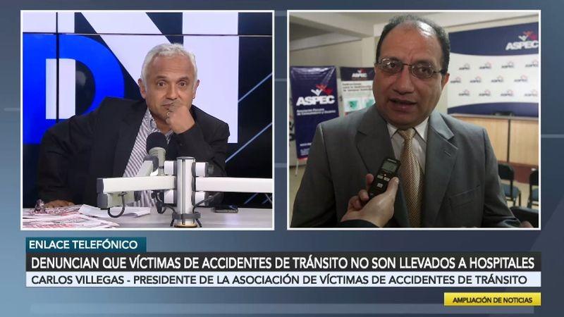 Carlos Villegas estuvo esta mañana en Ampliación de Noticias.