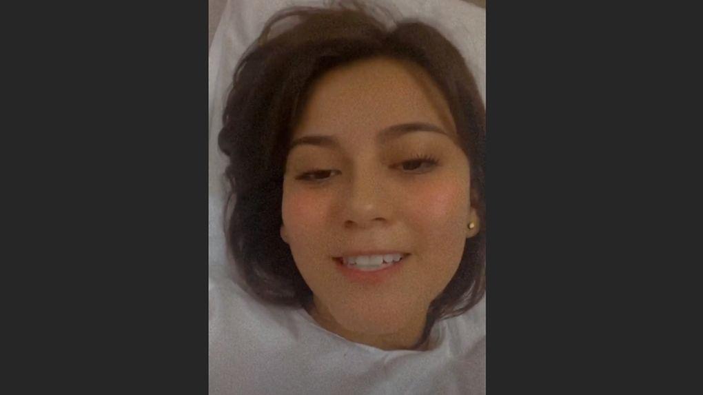 Amy Gutiérrez descarta tener coronavirus y revela las razones por las que fue internada de emergencia.