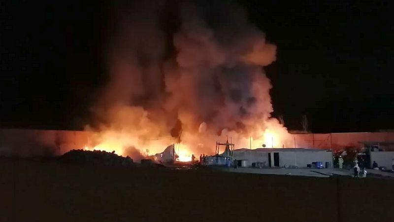 Los vecinos temían que las llamas alcancen predios aledaños.