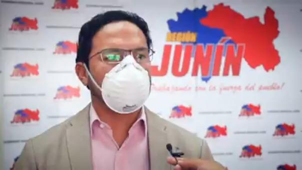 El gobernador de Junín Fernando Orihuela anunció la denuncia contra la paciente.