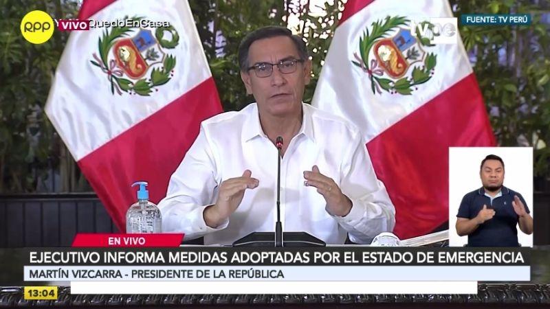 Martín Vizcarra se refirió al fin de la cuarentena en su conferencia de este viernes.