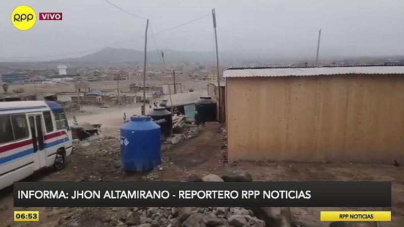 RPP Noticias llegó al asentamiento humano San Antonio de Huarochirí, ubicado a la altura del kilómetro 23 de la avenida Túpac Amaru.