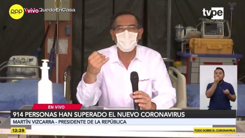 Martín Vizcarra dio nuevos datos de la enfermedad.