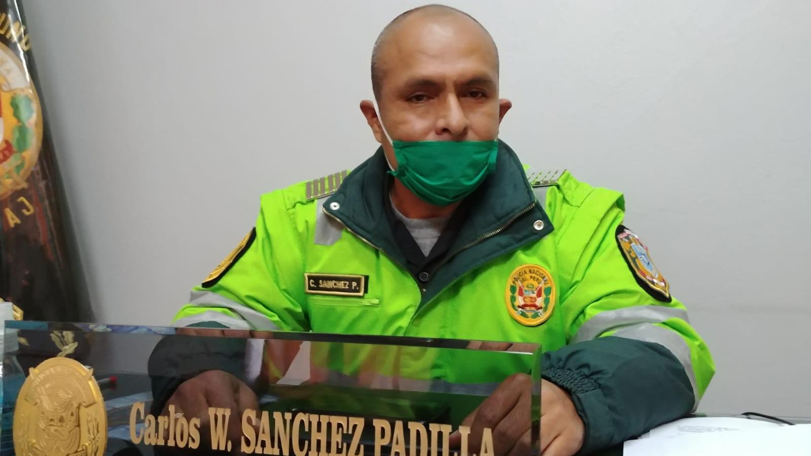 El coronel Sánchez Padilla señaló que no se pudo realizar todas las diligencias del caso.