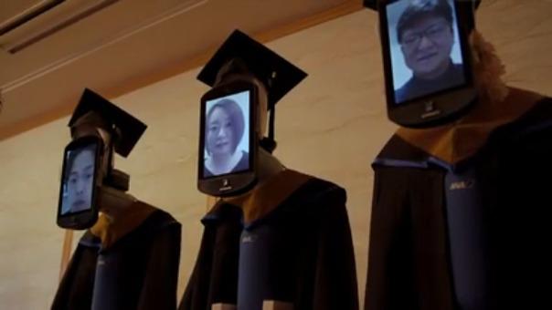 Así fue la ceremonia de graduación.