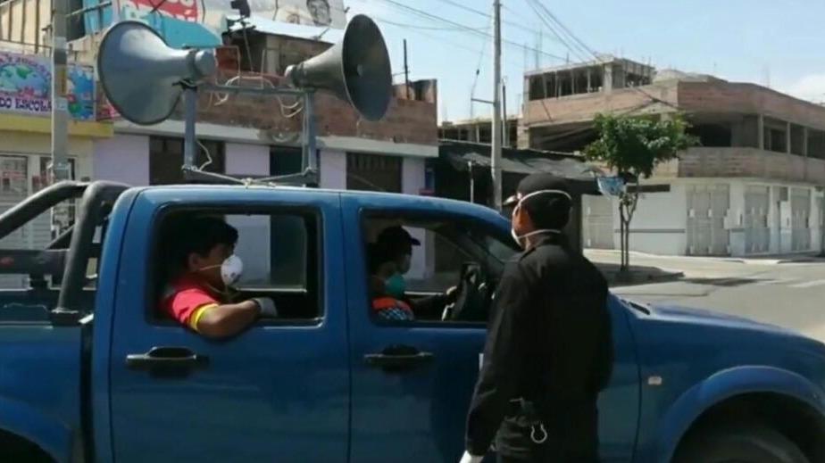 El alcalde de Tacna fue intervenido por la Policía Nacional.