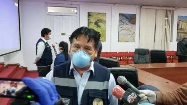Director de la Diresa Cusco, Dario Navarro, explica situación de las personas que incumplieron curantena.