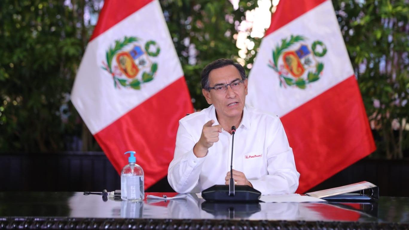 Presidente Vizcarra ofreció una nueva conferencia de prensa.