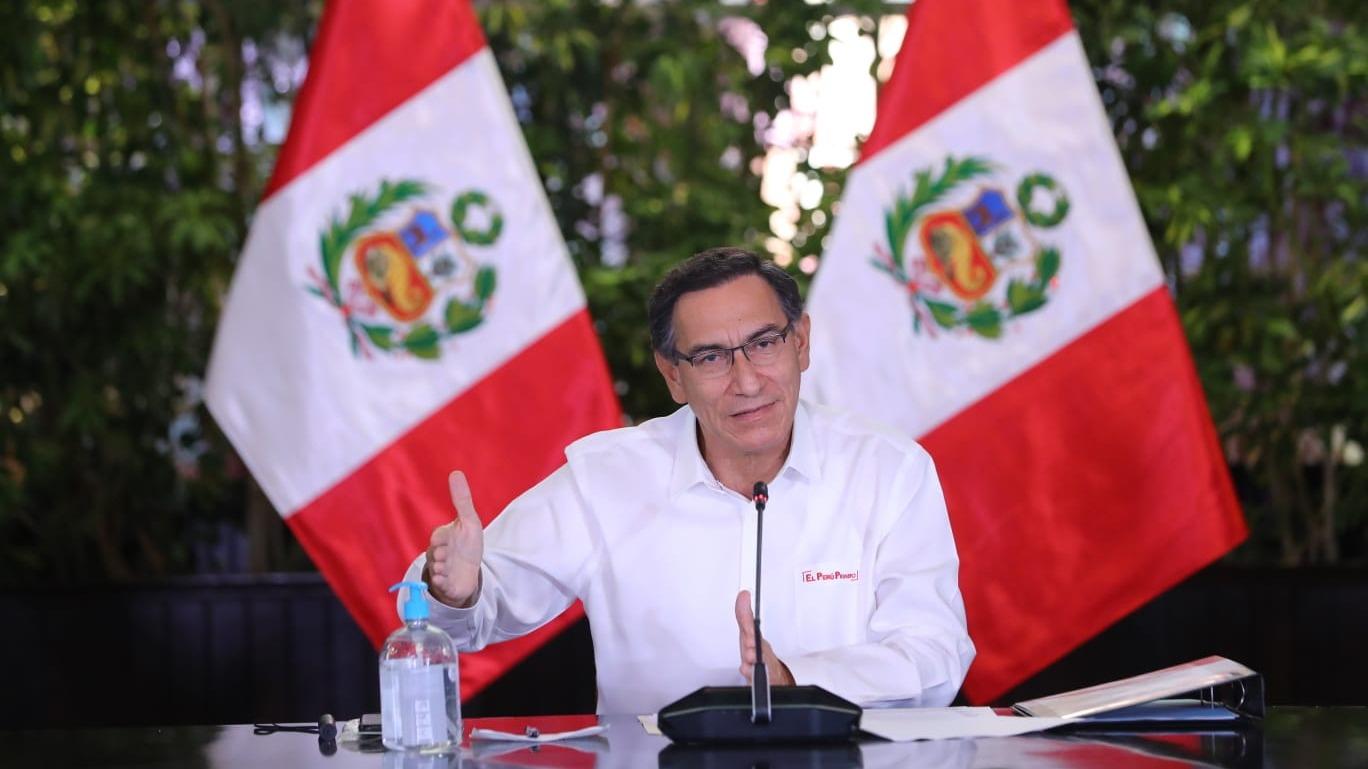 El presidente Vizcarra ofreció una nueva conferencia de prensa.