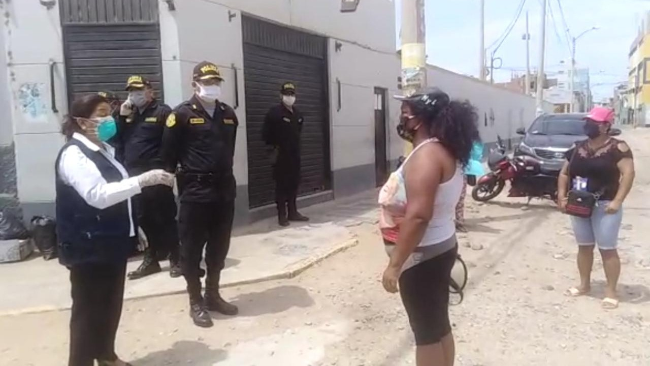 Autoridades intervinieron ante protesta