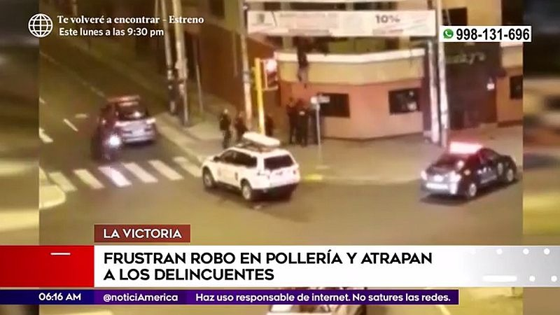 Uno de los detenidos es de nacionalidad chilena.
