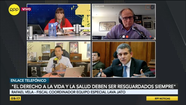 Entrevista a Rafael Vela Barba, fiscal del Equipo Especial Lava Jato.