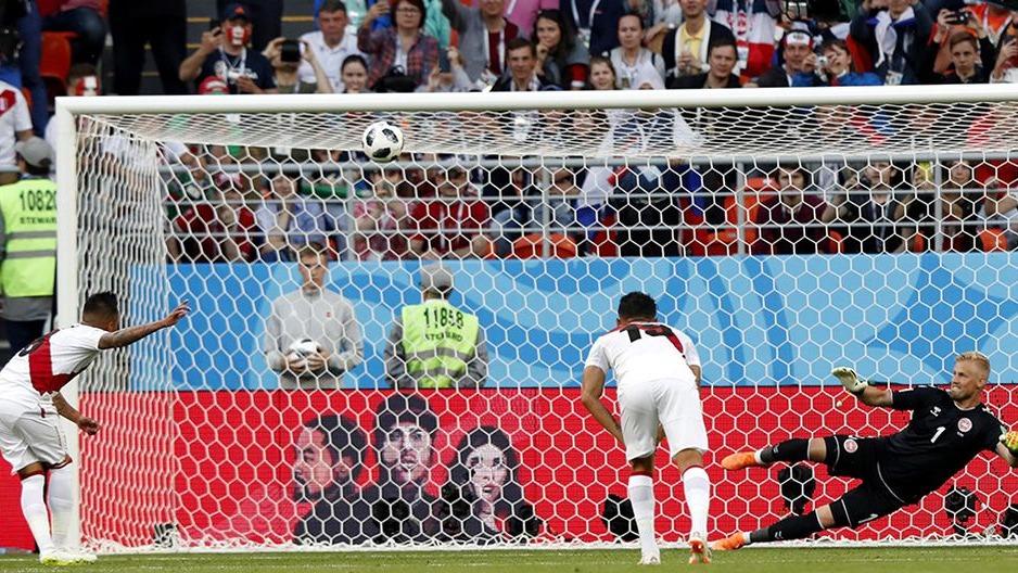 Christian Cueva se refirió al penal errado ante Dinamarca en el Mundial