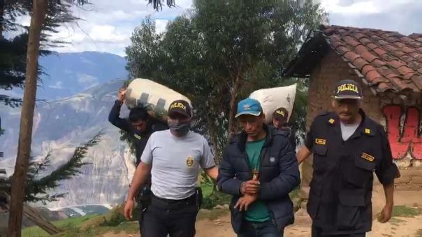 La Policía detuvo a Teodoro Vásquez Ramos, de 38 años, por el presunto delito de tráfico ilícito de droga.