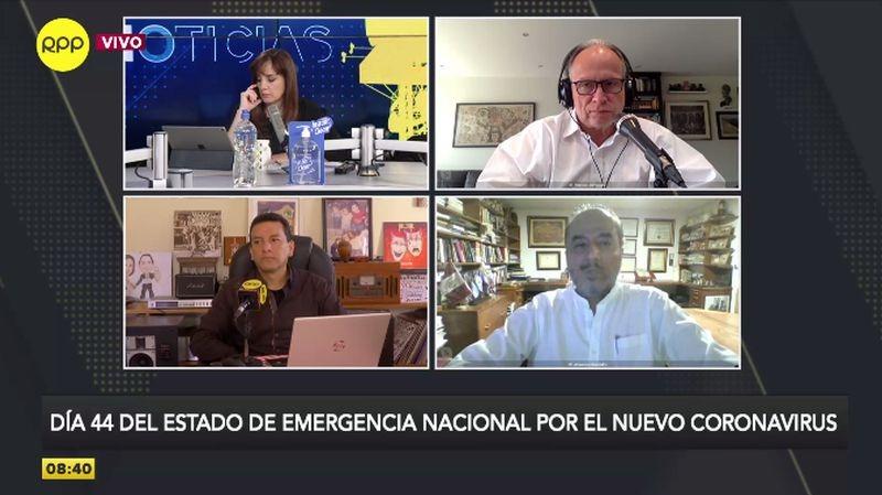 José Luis Pérez Guadalupe estuvo esta mañana en Ampliación de Noticias.