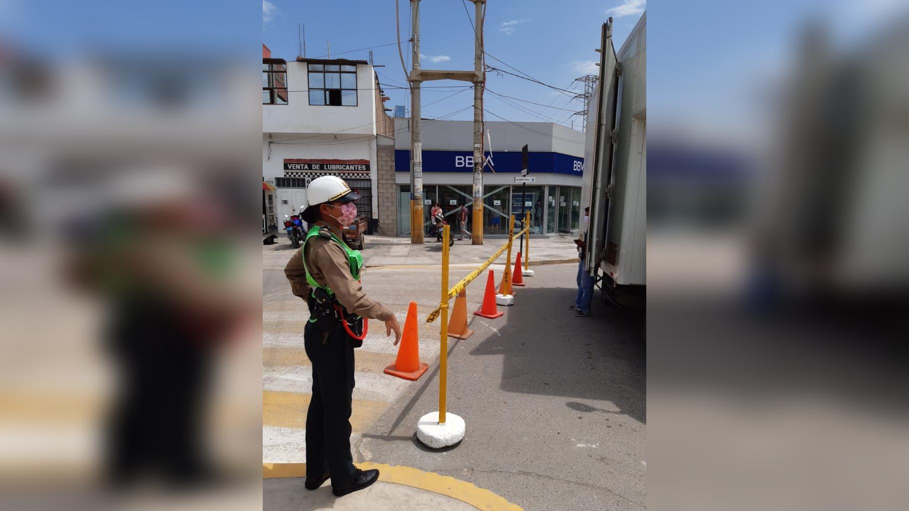La policía e inspectores de tránsito harán cumplir la medida