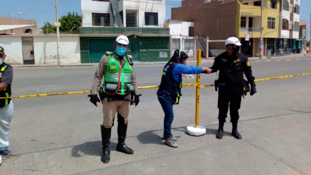 Se prohibe el ingreso a la ciudad de Chiclayo