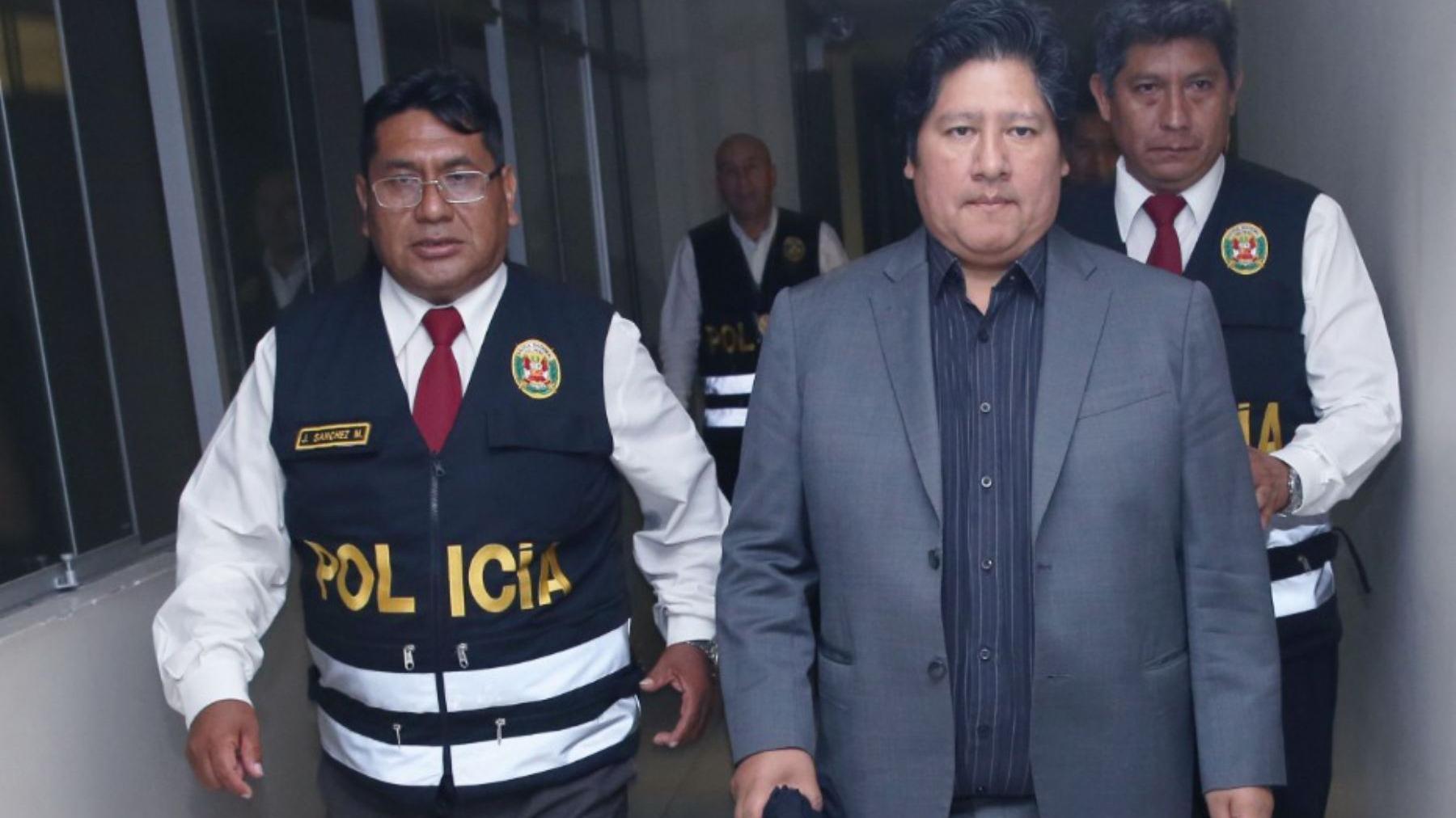 César Nakazaki, abogado de Edwin Oviedo.