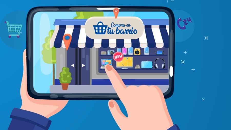 Los usuarios pueden conocer qué tienda está cerca de su casa y realizar sus compras virtualmente.
