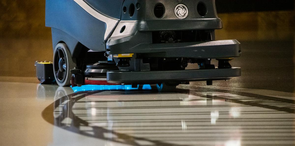 Estos robots son capaces de aplicar una presión de agua de hasta 88 PSI