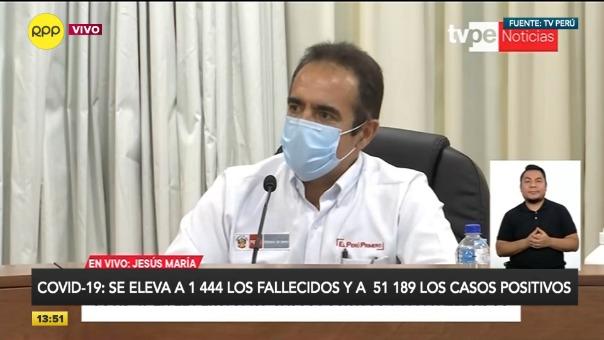 Declaraciones del ministro del Interior, Gastón Rodríguez.