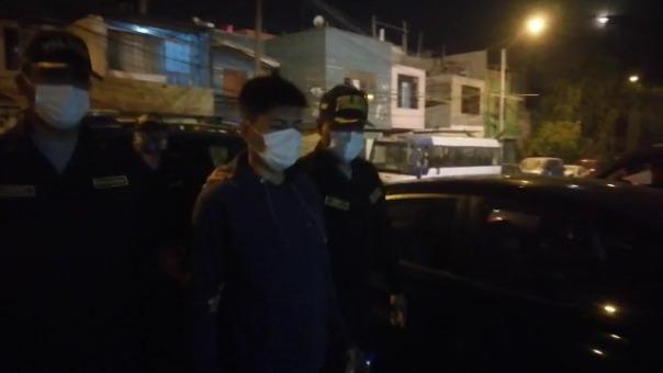 Daniel Livimoro fue detenido por agentes de la comisaria de Santa Elizabeth, con apoyo de agentes de la comisaría de Mariscal Cáceres.