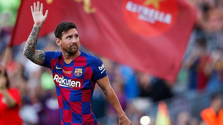 Así es como Fateme Hamami acabó el dibujo de Lionel Messi.