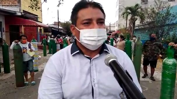 Juan Baldeón dijo que el oxigeno será completamente gratis