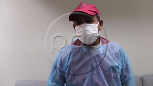 Héctor Chumpitaz  recibió el alta médica