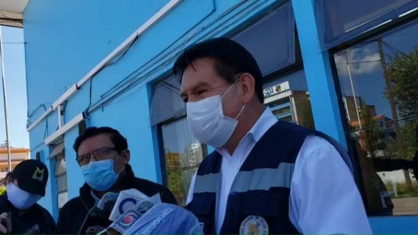El jefe de la DIRESA de Cusco, Darío Navarro, confirmó que se han realizado 700 pruebas rápidas en el hospital regional y están a la espera de más resultados.